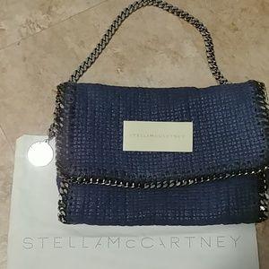 Stella McCartney Falabella Tweed Envelope Bag